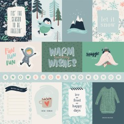 "Carta Bella - Carta 12x12"" - Snow Much Fun 02"
