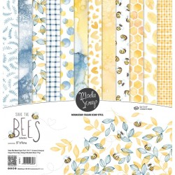 MODASCRAP - KIT CARTE - SAVE THE BEES 12X12""
