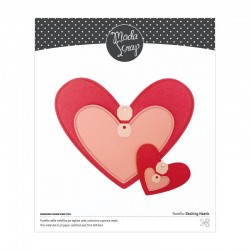 MODASCRAP - FUSTELLA - DASHING HEARTS