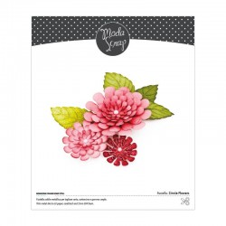 MODASCRAP - FUSTELLA - ZINNIA FLOWERS