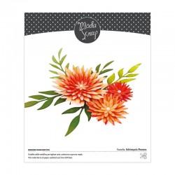 MODASCRAP - FUSTELLA - ECHINOPSIS FLOWERS