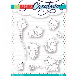 La Coppia Creativa - Timbri Clear - Gattini coccolosi