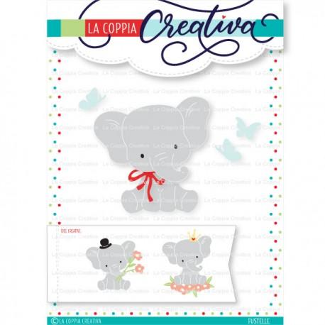 La Coppia Creativa - Fustella - Elefantino