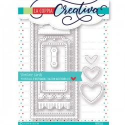 La Coppia Creativa - Fustella - Slimline cards