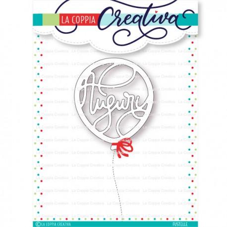 La Coppia Creativa - Fustella - Palloncino auguri