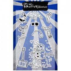 Brutus Monroe - Timbri Clear - Build a Snowman