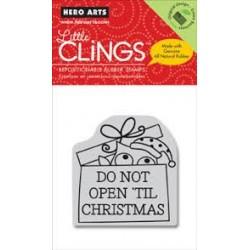 Hero Arts - Timbri Cling - Do Not Open