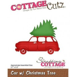 Cottage Cutz - Fustella - Car w/Christmas Tree