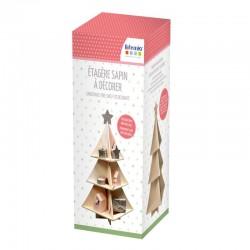 Artemio - Scaffale ad Albero di Natale da decorare