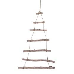 Rayher - Scala legno da appendere a forma albero di Natale