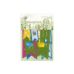 PIATEK13 - Abbellimenti - The Garden of Books - Tags 02
