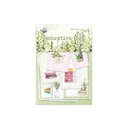 PIATEK13 - Abbellimenti - The Garden of Books - Tags 03