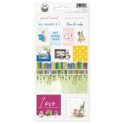 PIATEK13 - Sticker sheet -  The Garden of Books 02