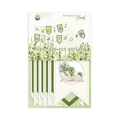 PIATEK13 - Paper die cut garland - The Garden of Books