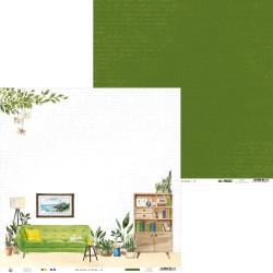 """Piatek13 - Carta 12x12"""" - The Garden of Books 03"""
