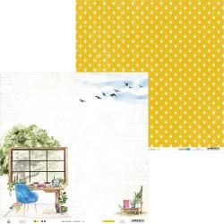 """Piatek13 - Carta 12x12"""" - The Garden of Books 01"""