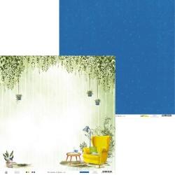 """Piatek13 - Carta 12x12"""" - The Garden of Books 02"""
