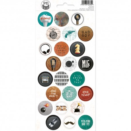 PIATEK13 - Sticker sheet -  Free Spirit 03