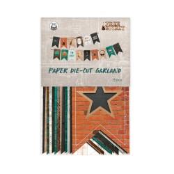PIATEK13 - Paper die cut garland - Free Spirit