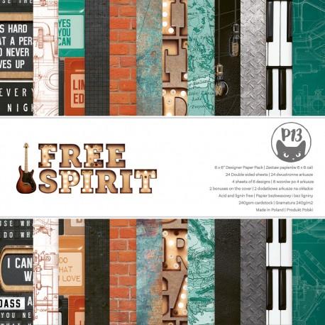 "Piatek13 - Pad Free Spirit- 6x6"""