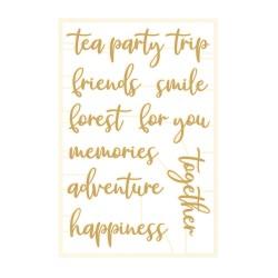 PIATEK13 - Chipboard - Forest tea party