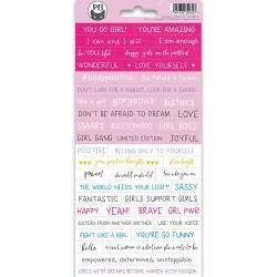 PIATEK13 - Sticker sheet -  Girl Gang 01