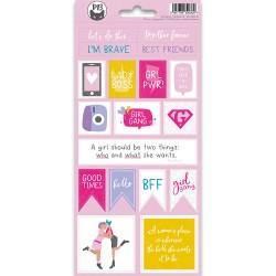 PIATEK13 - Sticker sheet -  Girl Gang 02
