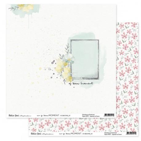 "Béatrice Garni - Carta 12x12"" - Un si beau moment 5"