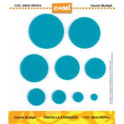 Impronte d'Autore - Fustella CUT-MI - Cerchi Multipli