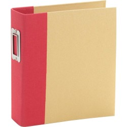 "Simple Stories - Snap Binder 6x8"" - Red"