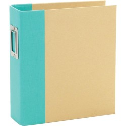 "Simple Stories - Snap Binder 6x8"" - Teal"