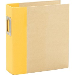 "Simple Stories - Snap Binder 6x8"" - Yellow"