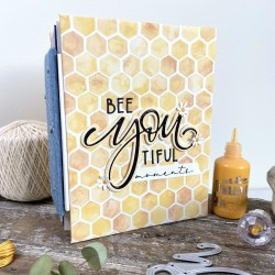"CORSO ONLINE MINI ALBUM ""beeYOUtiful moments"" di Sara con KIT"