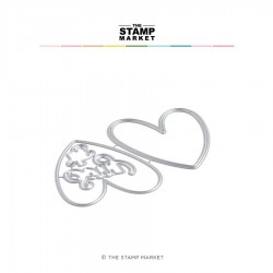 The Stamp Market - Fustella - Sorry Hearts