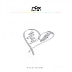 The Stamp Market - Fustella - Heart & Hugs