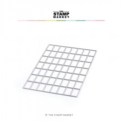 The Stamp Market - Fustella - Alpha Grid
