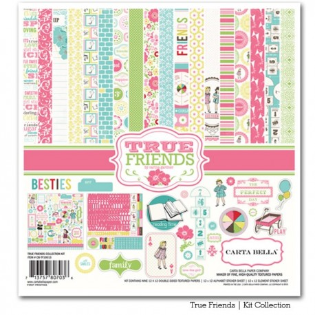Kit carte Carta Bella True Friends