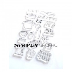Simply Graphic - Timbri Clear -