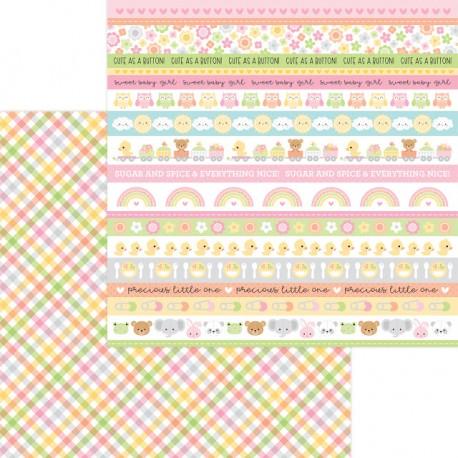 "DoodleBug - Carta 12x12"" - Blankie"