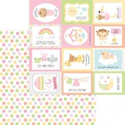 DoodleBug - Carta 12x 12 - Cute as a Button