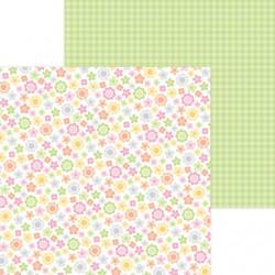 "DoodleBug - Carta 12x12"" - Baby Blooms"