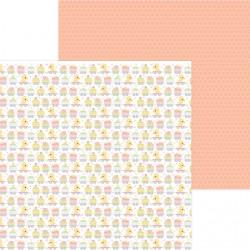 """DoodleBug - Carta 12x12"""" - Animal Quackers"""