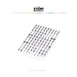 The Stamp Market - Timbri Clear - MINI ALPHA CUTS