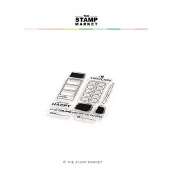 The Stamp Market - Timbri Clear - COLOR ME HAPPY