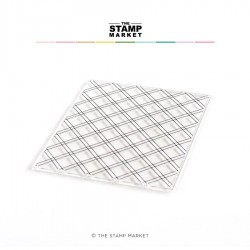 The Stamp Market - Timbri Clear - CRISS CROSS BACKGROUND