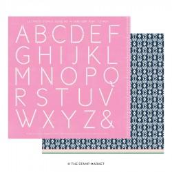 The Stamp Market - Carte 12x12 -  Miss Modern 11