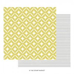 The Stamp Market - Carte 12x12 -  Miss Modern 12