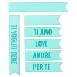 Impronte d'Autore - Fustella - Tag Amore