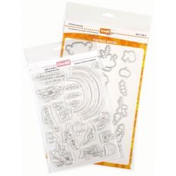 Bundle Fustelle e Timbri coordinati Impronte d'Autore - A Floral Journey