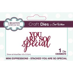 Creative Expressions - Fustella - You Are Special